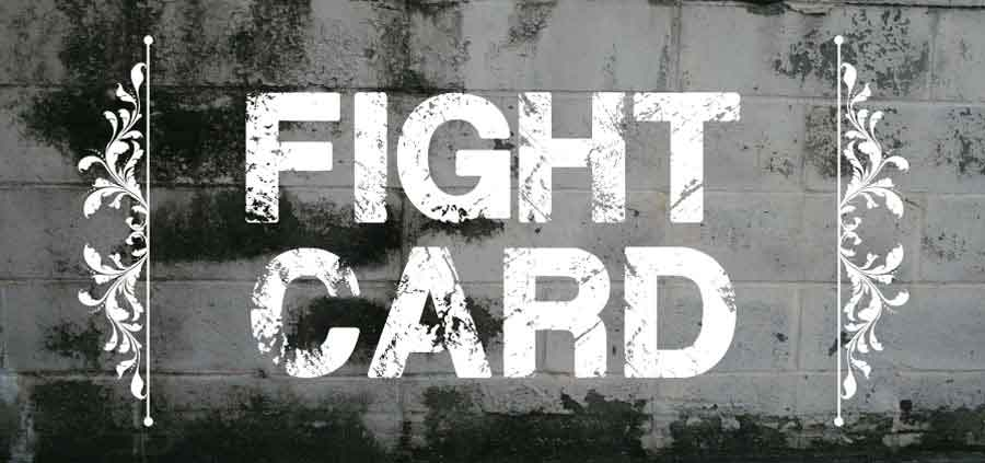fight card button